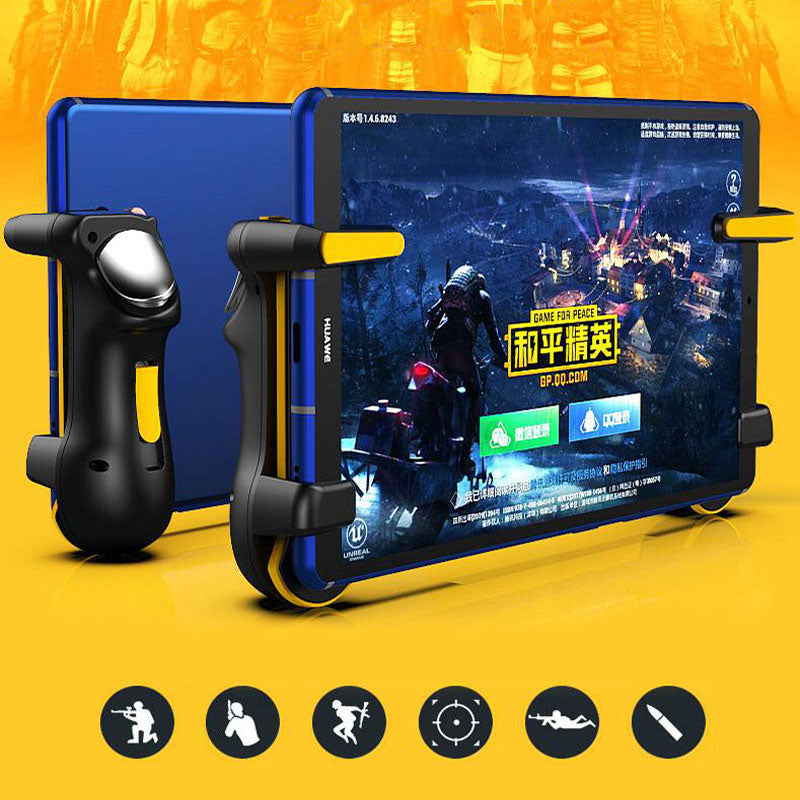 PUBG Ipad Trigger Controller Capacitance L1R1 Fire Aim Button Gamepad Joystick For Ipad Tablet Phone FPS Game Accessories