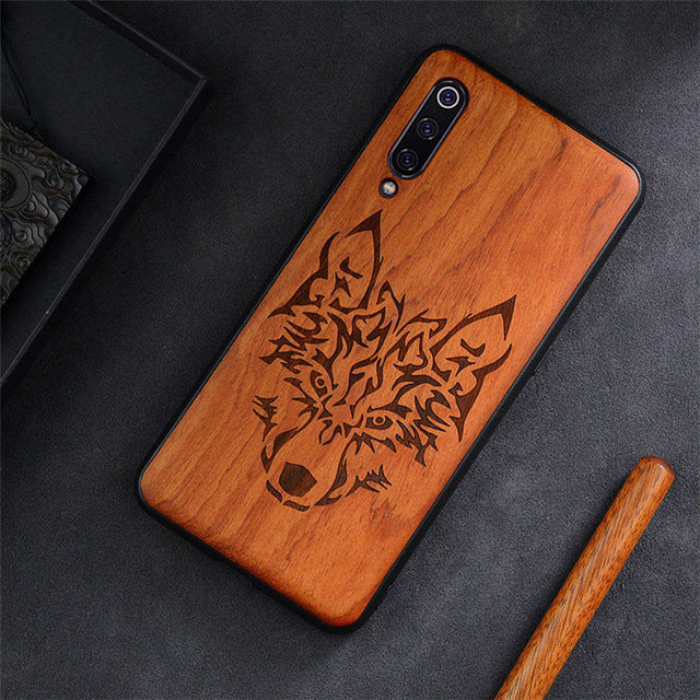 Phone Case For Xiaomi Mi 9T Mi 10 9 8 Mix 3 2s 2 Original Boogic Wood Case For Xiaomi Redmi K20 K30 Pro Note 8 Phone Accessories