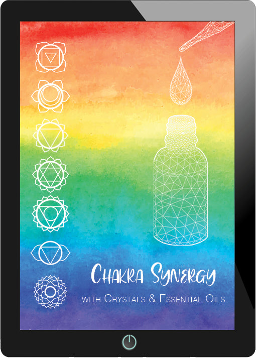 Chakra Synergy with Crystals & Essential Oils