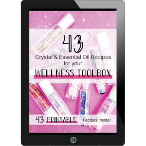 43 Crystal & Essential Oil Recipes For Your Wellness Toolbox