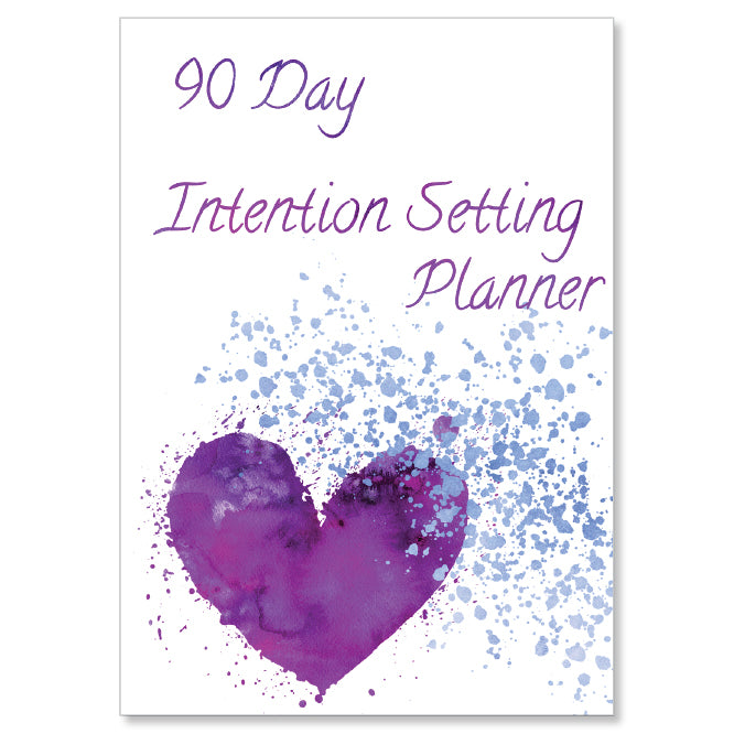 90 Day Intention Setting Planner & Journal