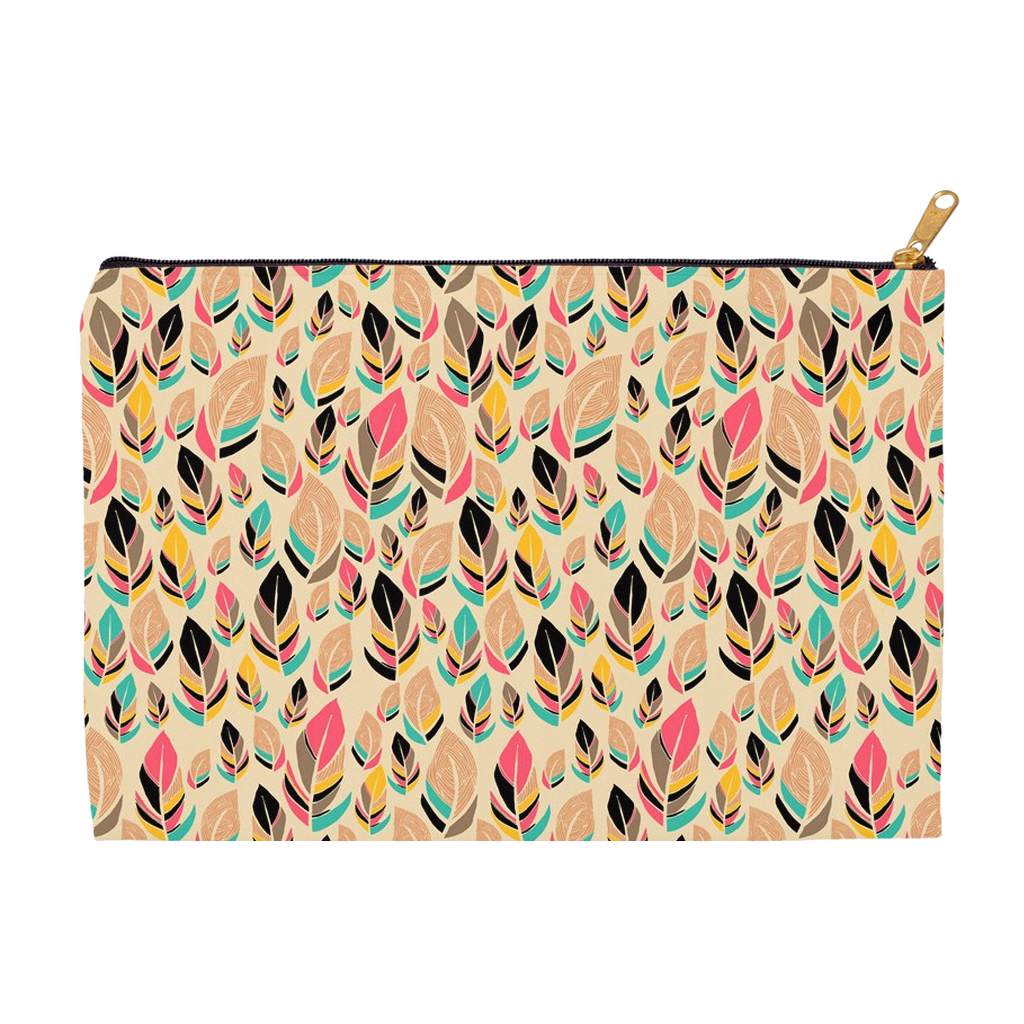 Feather Love Accessory Pouches
