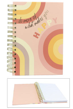 Do what makes you Happy Spiral Notebook