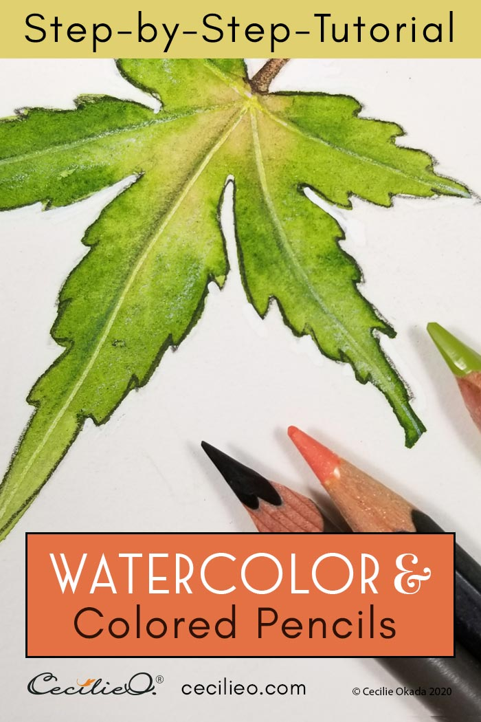 The Little Known and Easy Way to Watercolor Leaves