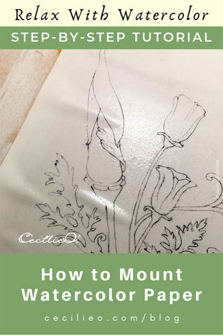 How to Prevent Watercolor Paper Bumps