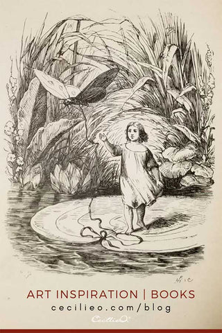 Art Inspiration from Antique Fairy Tale Book
