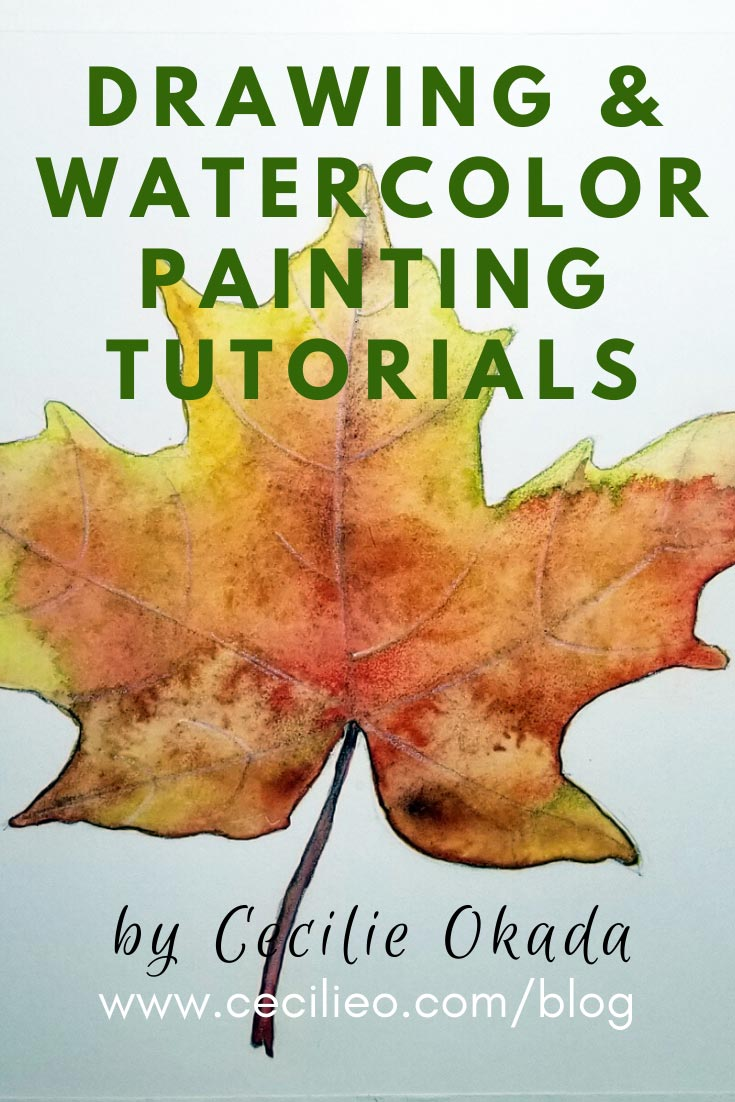 Drawing and Watercolor painting Tutorials