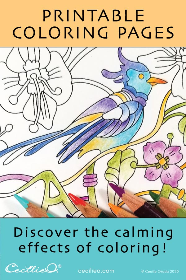 Discover the calming effect of coloring!