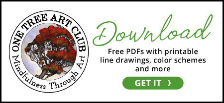 Free download of printable line art