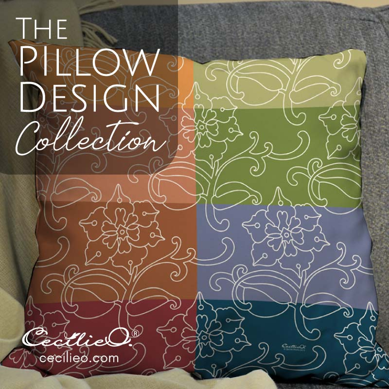 Pillow Design Collection by Cecilie Okada