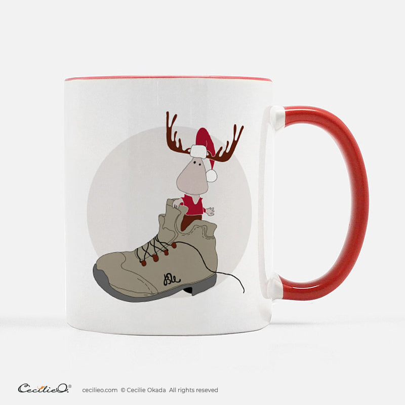 BrynUlf Elk Coffee Mug | Hiking Boot