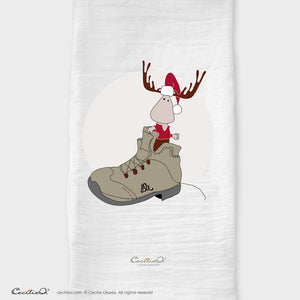 BrynUlf Elk Tea Towel | Hiking Boot