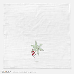 BrynUlf Elk Tea Towel | Snow Crystal