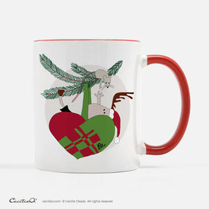 BrynUlf Elk Coffee Mug | Heart