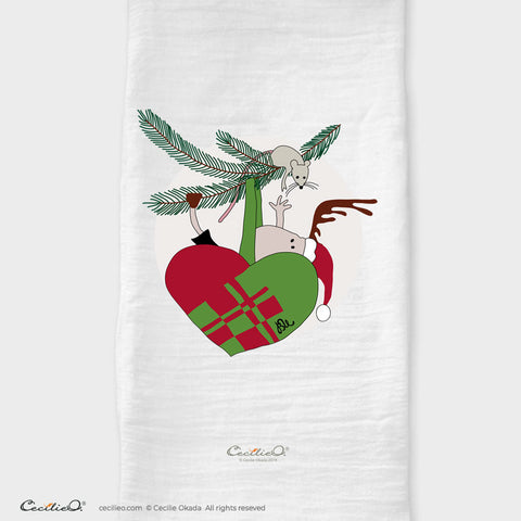 BrynUlf Elk Tea Towel | Heart