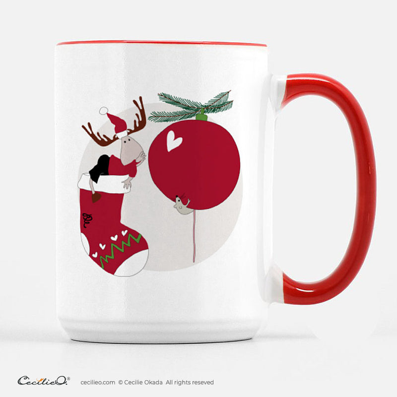 BrynUlf Elk Coffee Mug | Christmas Stocking