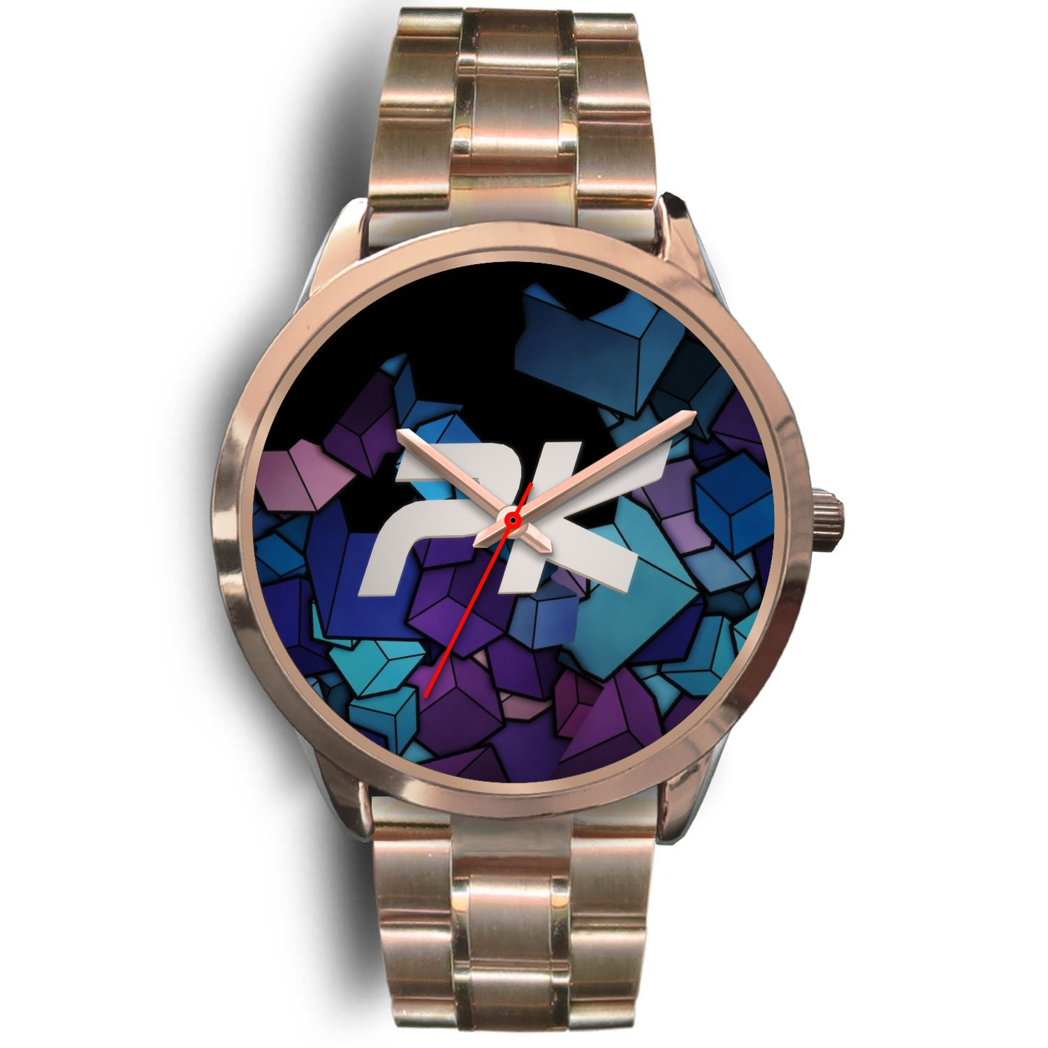 PK CUBED - UNISEX WATCH - LEATHER/ METAL BANDS