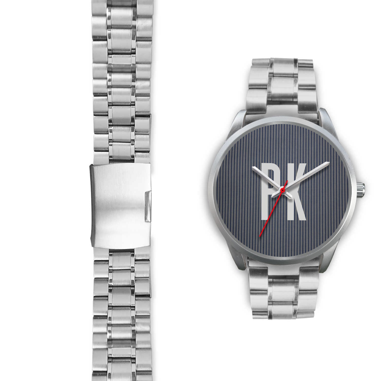 PK KLASS PINSTRIPE - UNISEX WATCH LEATHER AND METAL BANDS