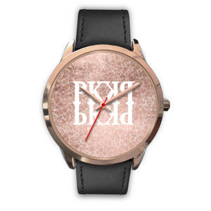 PK ROSE PEDALS - UNISEX WATCH LEATHER/ METAL BANDS