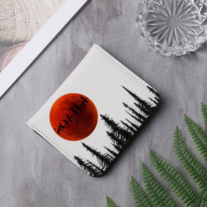 BLOOD MOON LEATHER WALLET