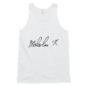 MALCOLM X SIGNATURE TANK TOP
