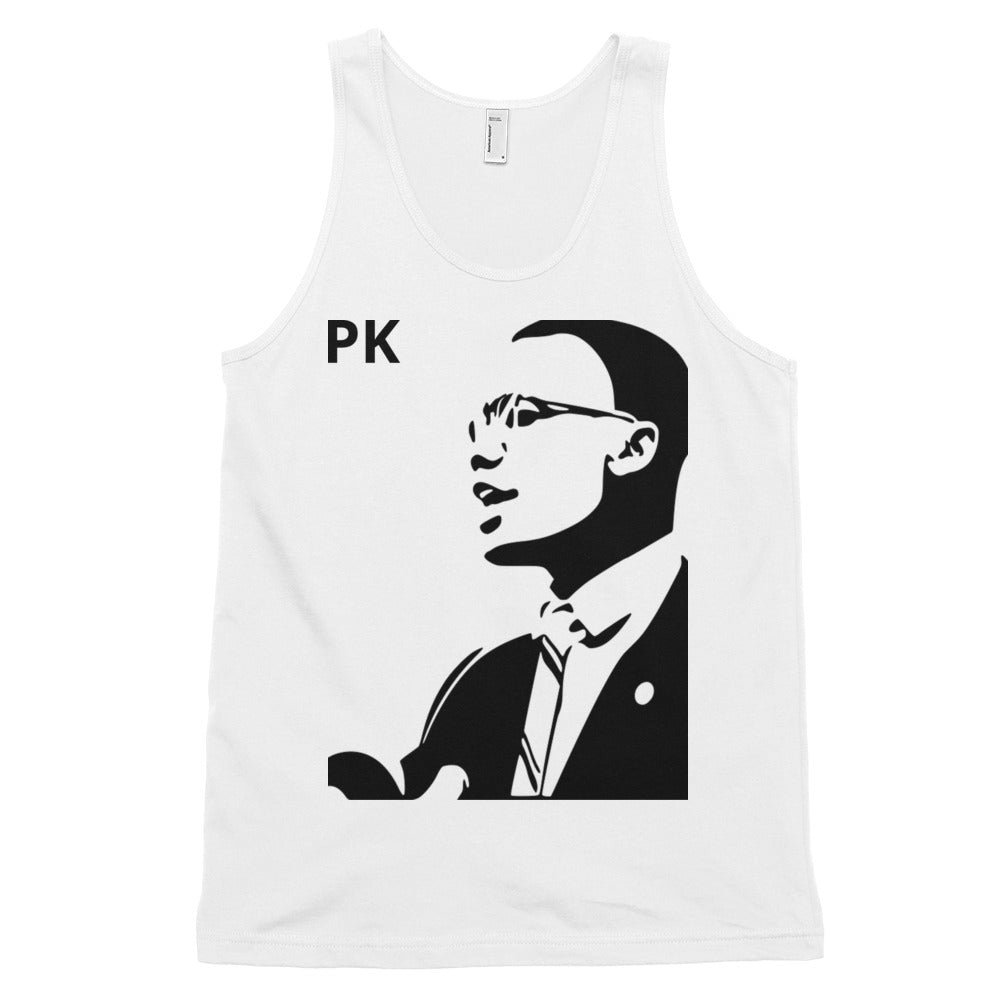 Malcolm X Classic Adult tank top (unisex)