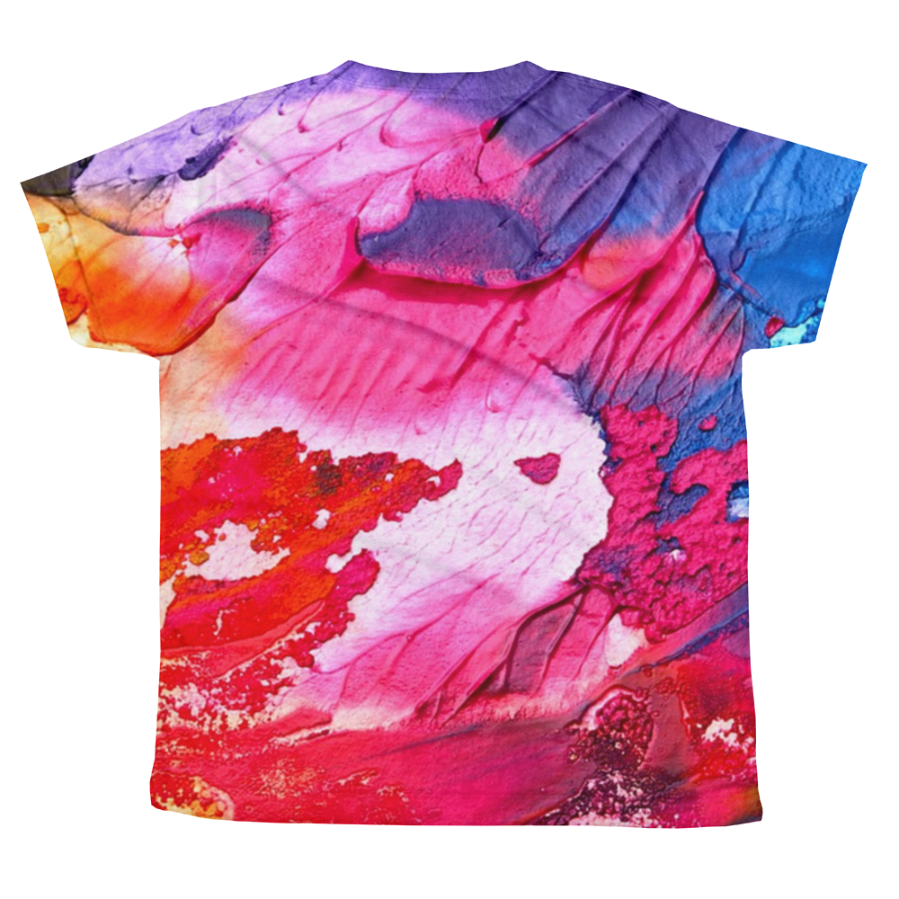 WAVY ALL-OVER YOUTH T-SHIRT