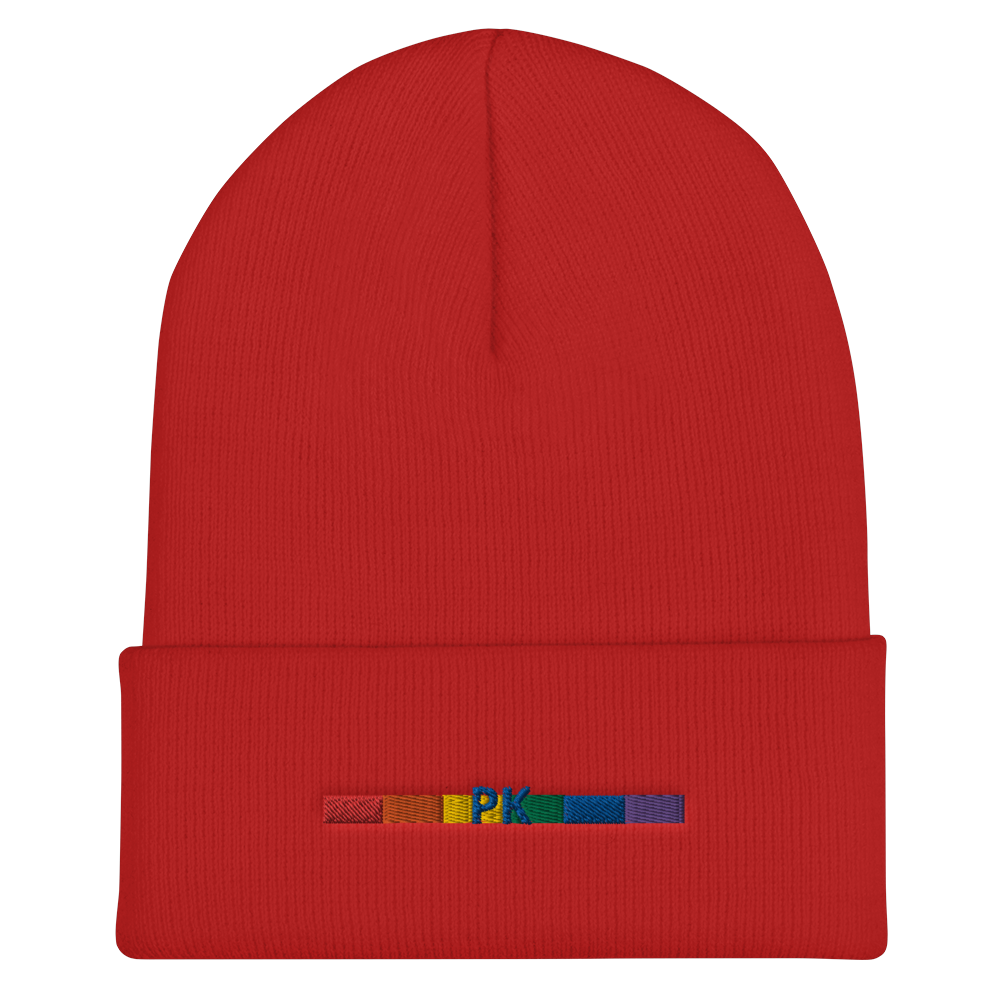 MULTI COLORED PK PRIDE BEANIE