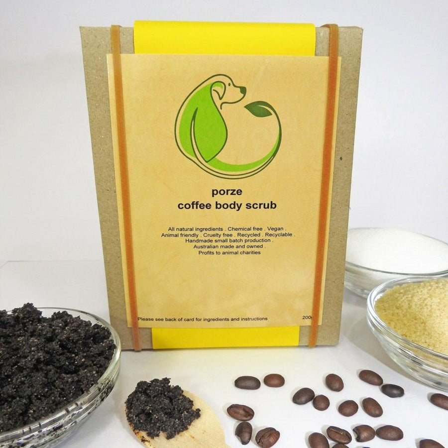 Uplifting Coffee Body Scrub