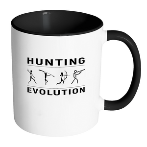 Hunting Evolution Contrast Mug
