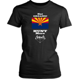 Eat Organic - Hunt More | Arizona State Flag T-Shirt with Bow