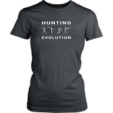 Hunting Evolution Tees (Men's, Women's, Short & Long Sleeve, Colors)