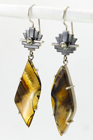 Montana Agate Earrings