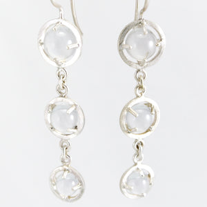 Pools of Light earrings
