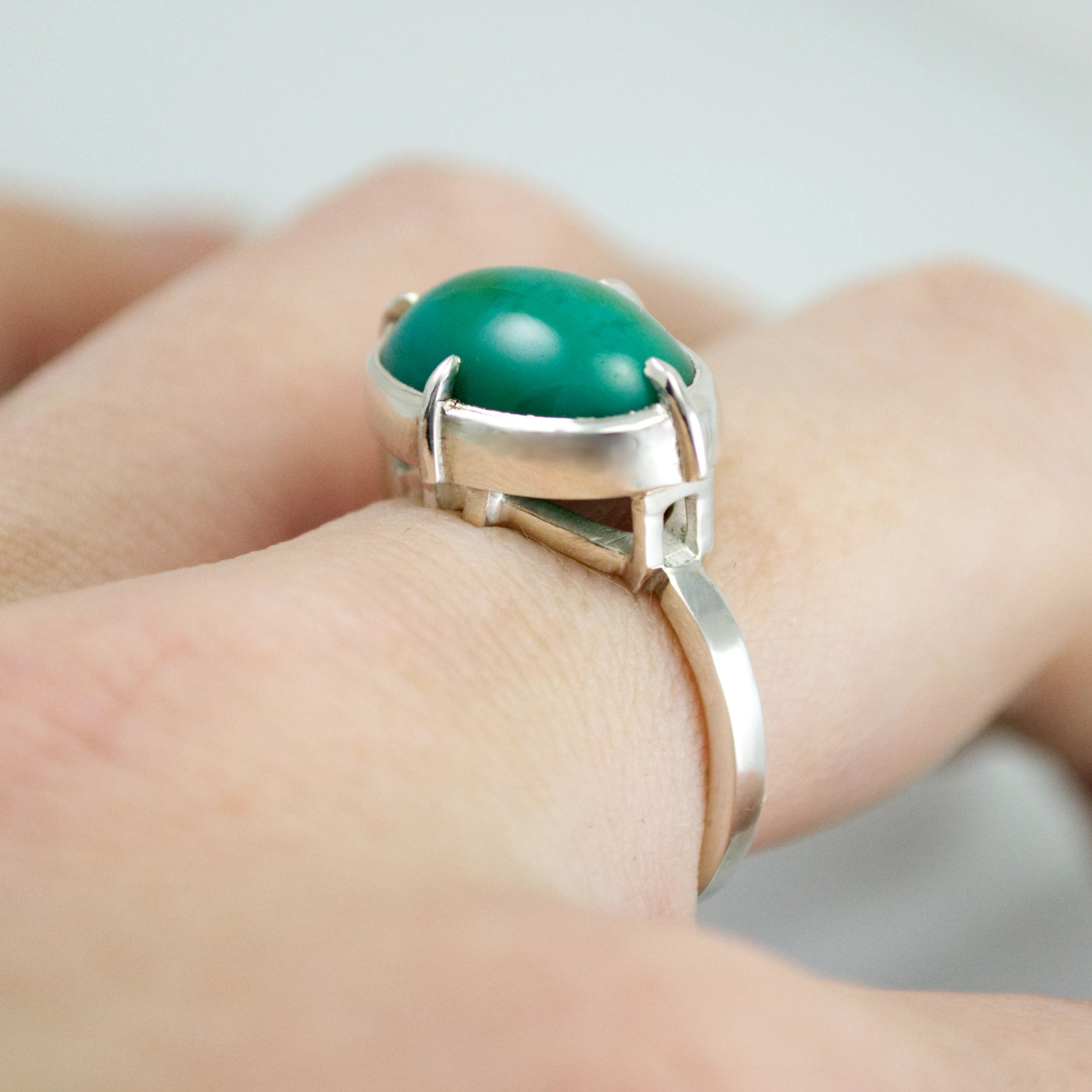 Chrysocolla Ring - Phetteplace Studio
