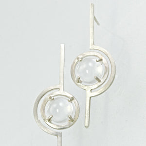 geometric art deco earrings