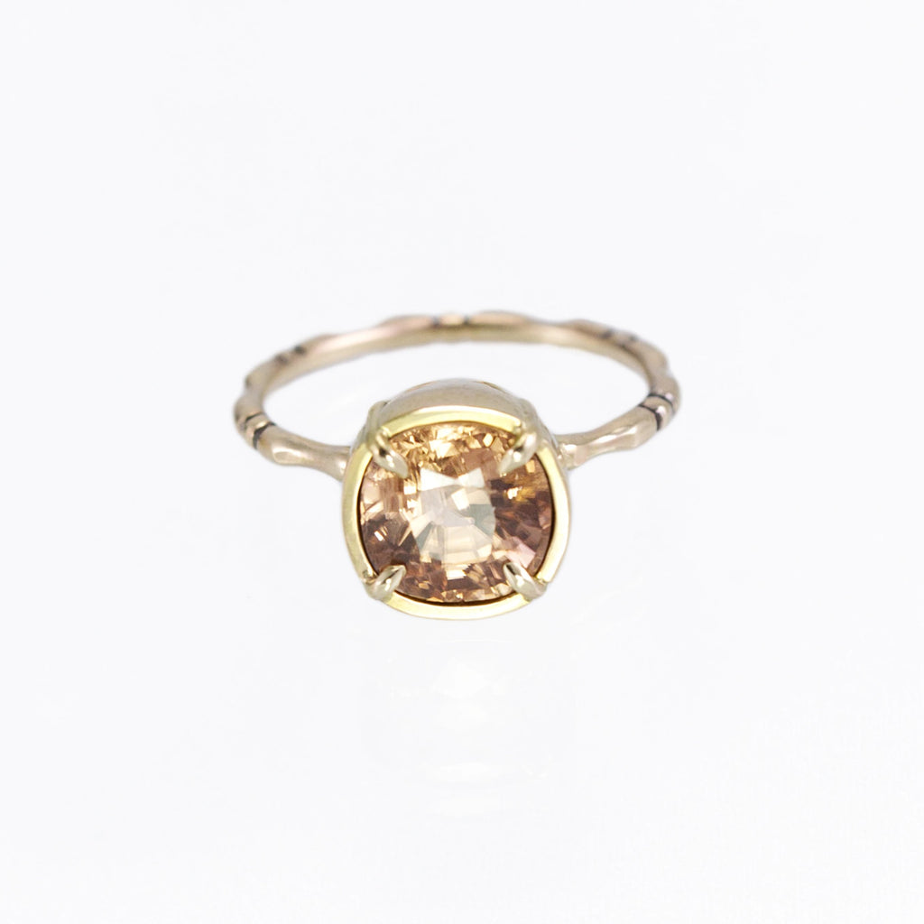 zircon alternative engagement ring