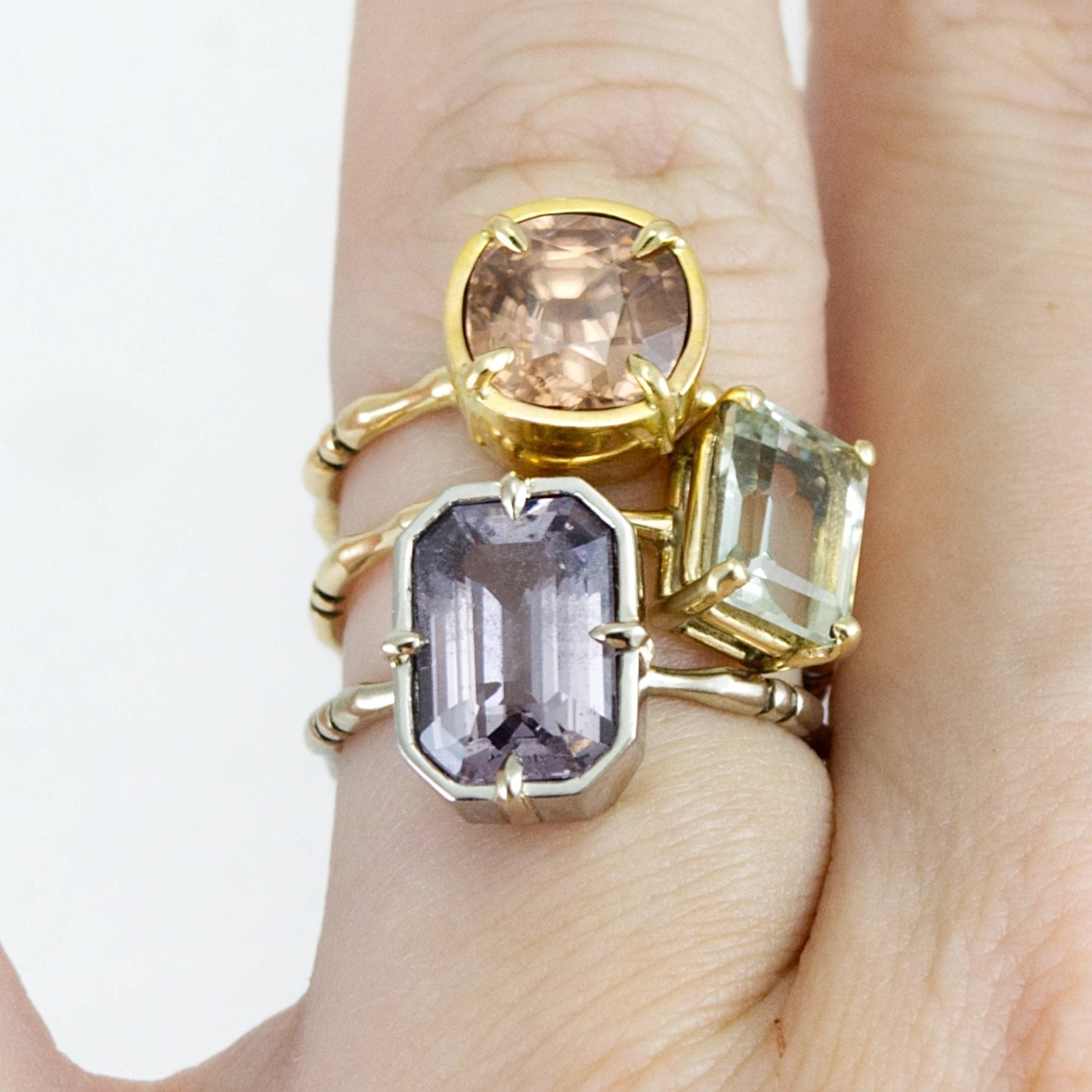 memento mori spinel ring