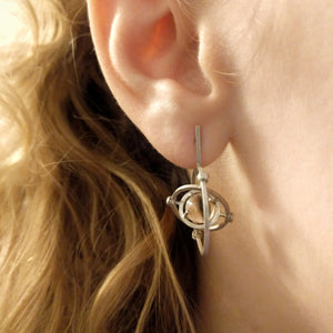 kinetic hoops earrings