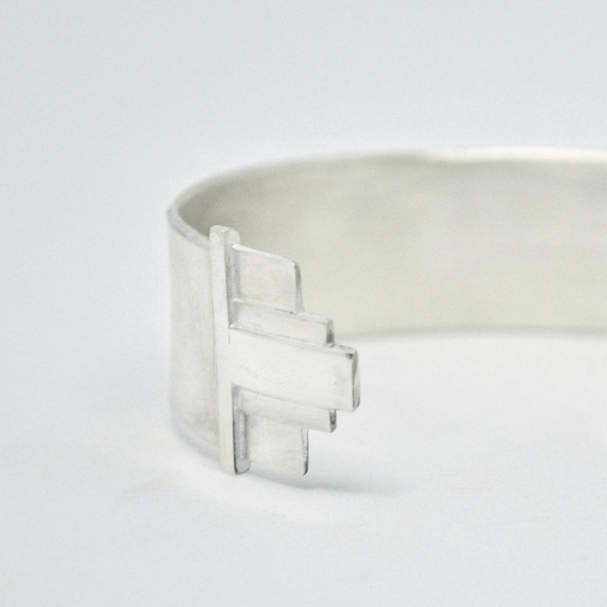 geometric art deco cuff