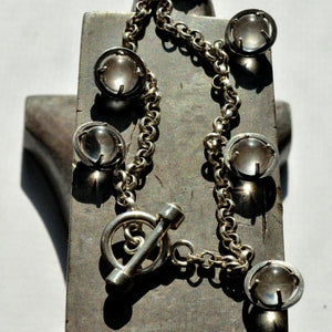 pools of light toggle charm bracelet