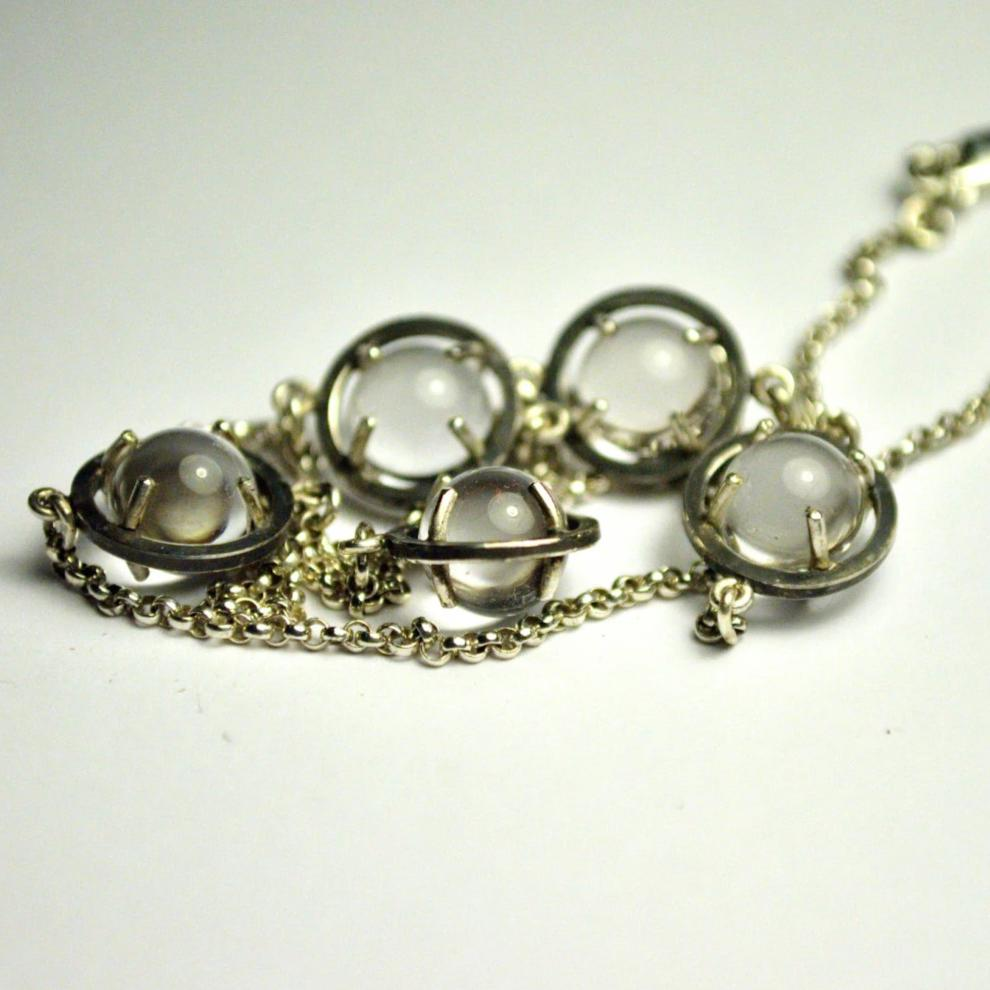 Pools of Light By the Yard Necklace