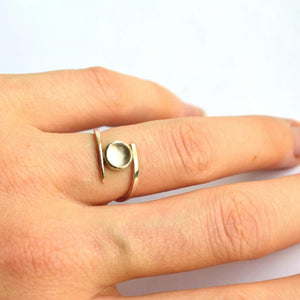 Quartz Bypass Ring