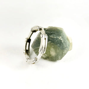 Collapsing Ring - Sterling Silver