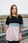 Flydoh Womens Three Panel Oversized T-Shirt - FLYDOH