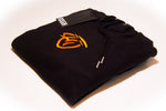 Flydoh Black Hoodie w/ Orange Trim - FLYDOH