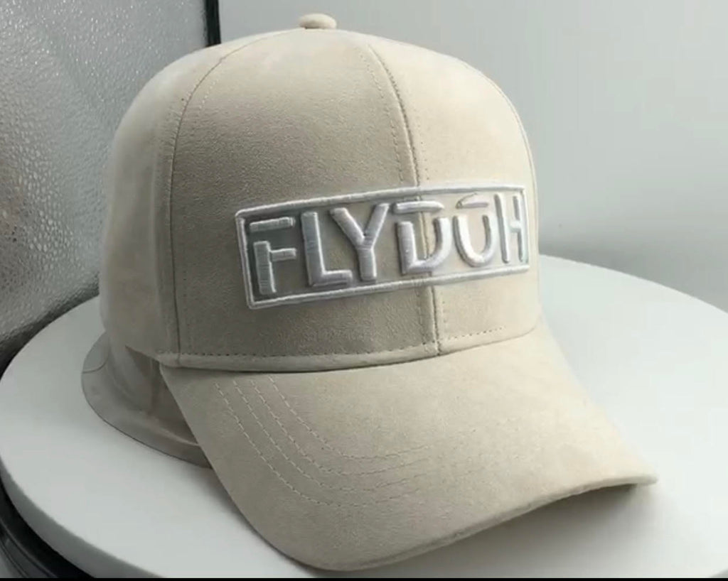 FLYDOH  Sand Suede Cap