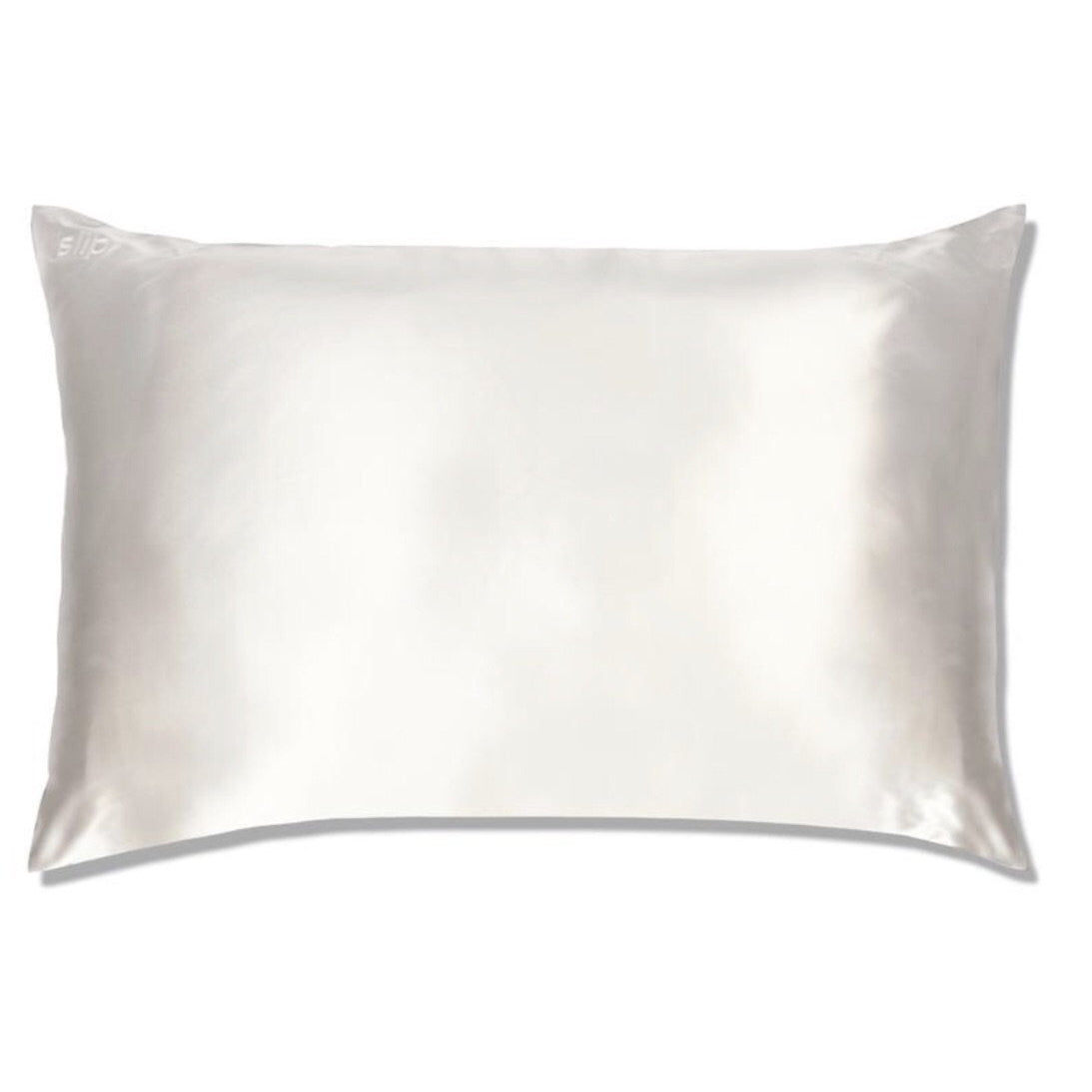 SLIP PILLOWCASE - WHITE - QUEEN