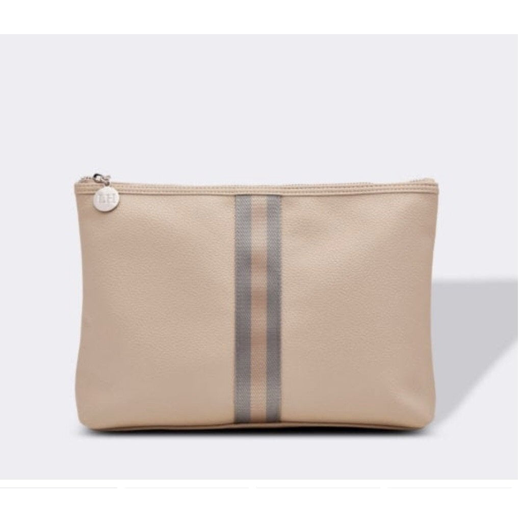 Yale Toiletries Bag - Tan