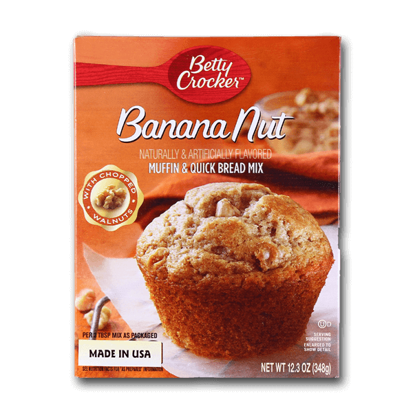 Betty Crocker Banana Nut Muffin & Quick Bread Mix(348g)